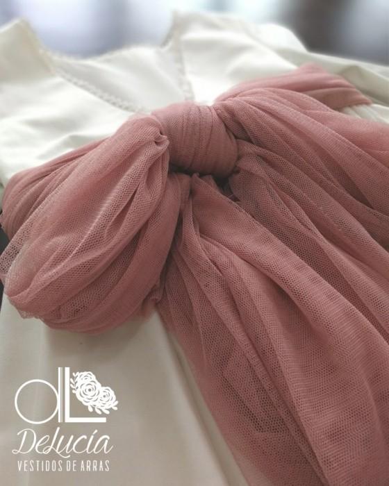 Blusa con capota y braga Fiorella
