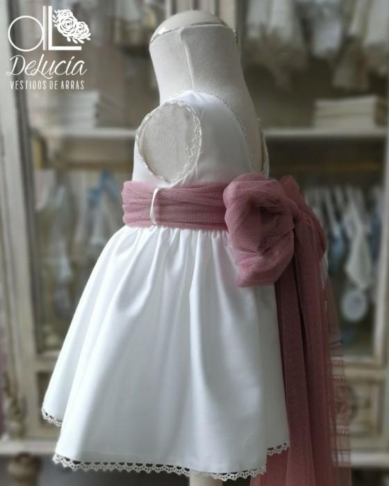 Vestido evasé con blusa,braga y capota Fiorella